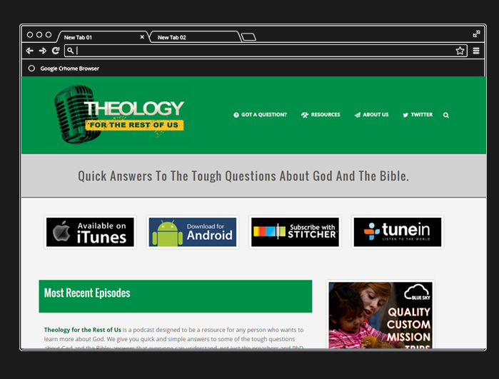 Theology For the Rest of Us Podcast